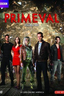 PRIMEVAL (2007-2012) - When strange anomalies in time start to appear all over England, Professor Cutter and his team have to help track down and capture all sorts of dangerous prehistoric creatures from Earth's distant past.