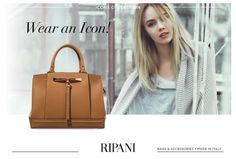 Ripani Icons Collection - model GIUDECCA #icon #christmas #gift #madeinitaly #leatherbags