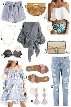 2b5e9656c01 Beauty blogger Mash Elle shares her roundup of affordable spring fashion  finds Cute Fashion