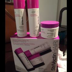 SALE Strivectin Hair Trio Ultimate restore starter trio from Strivectin. This is a brand new set. I haven't opened it. I received it as a gift and don't need it. I'll take best offer. Strivectin Other