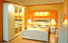 Romantyczna sypialnia WERONA-KREM teraz tańsza o 10%. Zakochaj się w niej.