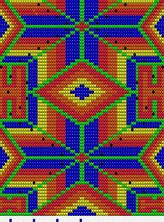 Tapestry Crochet, Needlework, Mosaic, Chart, Pattern, Bags, Design, Cross Stitch Embroidery, Bracelets