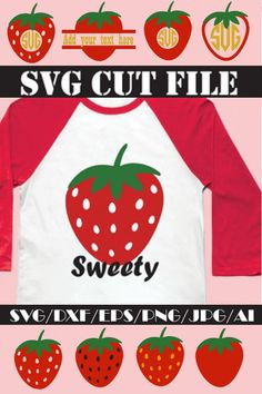 e74e3b2aa Strawberry SVG * Strawberry Monogram Cut File By SVGSUPPLY |  TheHungryJPEG.com