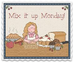 Flour Me With Love Monday Link Parties Linda Bauwin - CARD-iologist Helping you create cards from the heart. www.stampingwithlinda.com