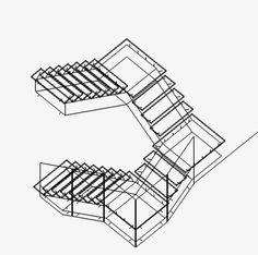 Genetic Stair  Caliper Studio, 2006-2008
