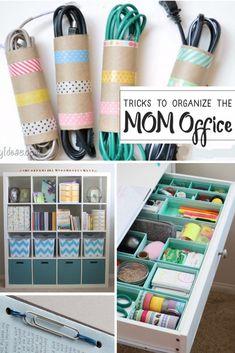 Genius Mom-Office Ideas