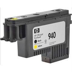 Printer Ink & Toner-HP Black and Yellow Officejet Printhead 940 by HP. $71.18