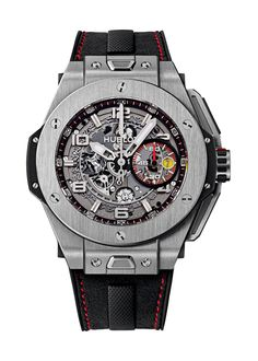 Big Bang Ferrari Titanium 45mm Chronograph watch from Hublot