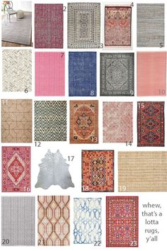 Young House Love - A full rug buying guide, including our top picks for material, pattern, price, and even guidelines for picking the right sized rug for your space. Silver Grey Carpet, Beige Carpet, Inexpensive Rugs, Affordable Rugs, Washable Area Rugs, Young House Love, Diy Décoration, Buy Rugs, Carpet Colors