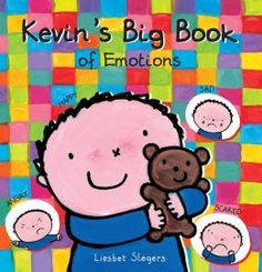 Kevin's Big Book of Emotions by Liesbet Slegers helps youngsters explore their emotions with poems, lift-the-flap games, questions, and fabu. Spanish Activities, Feelings Activities, Pre Kindergarten, Feelings And Emotions, Emotional Intelligence, Book Cover Design, Social Work, Storytelling, Childrens Books
