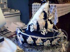 Μαρτυρικά βάπτισης καραβάκι μαξιλαξάρι για τα μαρτυρικά