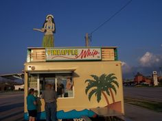 I remember Pineapple Whip ice cream in Springfield, Missouri from when I was a child. They still have it there! #Springfield, Missouri