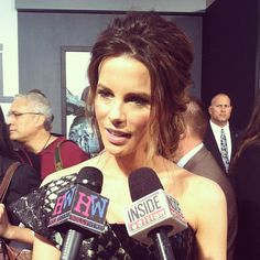 Kate Beckinsale at the 'Total Recall' premiere