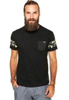 Camiseta Onbongo Malaui Preta Mais