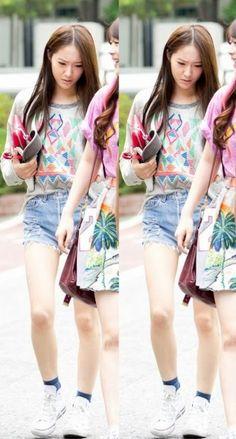 Official Korean Fashion Blog: F(X) Krystal Airport Fashion