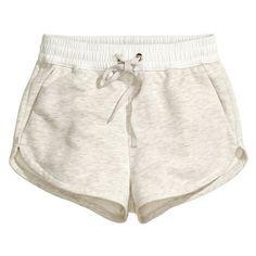 H&M Sweatshirt shorts Hot Shorts, Hot Pants, Mini Shorts, Grey Shorts, Lazy Day Outfits, Cute Casual Outfits, Casual Shorts, Girl Outfits, Summer Outfits
