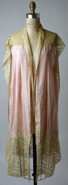 Lingerie Boué Soeurs (French) Date: 1927 Culture: French Medium: silk. Front