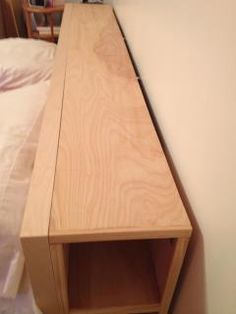 King size MALM bed with no headboard storage solutions available? Time to get HACKED | IKEA Hackers Clever ideas and hacks for your IKEA