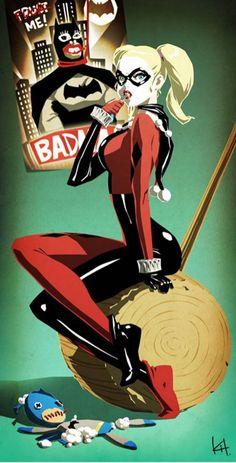 Harley Quinn Fan Art                                                       …                                                                                                                                                                                 Plus
