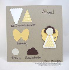 Precioso ángel y fácil de hacer. Angel-Punch-Art