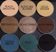 Makeup Geek Eyeshadows