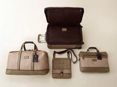 Tumi is bringing back old world elegance with their Spring 2012 Bedford collection. The warm, neutral tones of this set of luggage is such a breath of fresh air, especially when you consider how many collections skew towards dark, drab colours. Some…