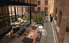 Conservatorium Hotel Amsterdam, just opened, said to be the most luxurious hotel in the Netherlands...would love to spend a night here...