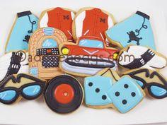 50's themed sugar cookies | Custom 50's Cookies