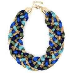 Weaved Handmade Collar Necklace