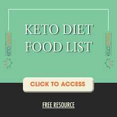 Free resources to help you lose weight, heal your body, solve underlying health issues, and look and feel better than ever with a low carb, Keto diet. Lchf Diet, Paleo Diet, Ketogenic Diet, Keto Food List, Food Lists, Losing Weight Tips, Lose Weight, Weight Loss, Low Carb Recipes