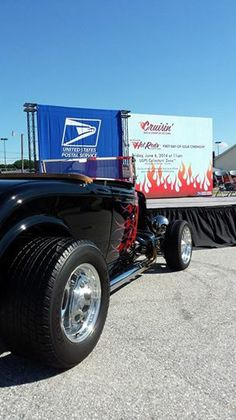 We're revving our engines in preparation for the Hot Rods Forever® stamp dedication ceremony. #HotRodsForeverStamps