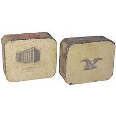 Two  Stone  Lithography Printing Blocks