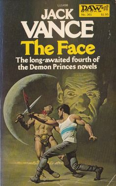 Jack Vance. The Face. D.A.W Book No.361