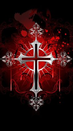 silver cross wallpaper by georgekev - - Free on ZEDGE™ Jesus Wallpaper, Iphone Wallpaper Bible, Hd Wallpaper Android, Skull Wallpaper, Galaxy Wallpaper, Wallpaper Backgrounds, Iphone Wallpapers, Cross Pictures, Jesus Pictures