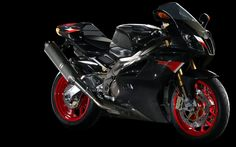 Aprilia RSV 1000 R Class : super bike Engine : 998 cc V-twin, 4-stroke, liquid cooled Top speed : 270 km/h (168 mph) Power : 105.24 kW (143.09 PS; 141.13 hp) @ 10000 rpm Torque : 10.3 kg•m (101 N•m; 75 lb•ft) @ 8000 rpm
