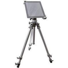 Universal Adjustable Tripod or Monopod Mount for Tablets