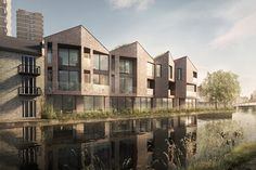 pH+ Architects - eight canal-side homes in East London