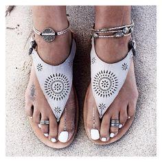 angelsstyle:  Laser cut sandals bohemian