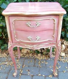 pinner - Love this stand! Would love to make something like this for Tinley! Site for restored furniture