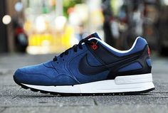 Nike Air Pegasus 89 | Dark Blue & Uni Red