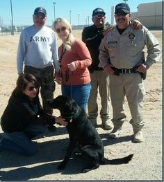 "RELEASE: PAWS CANINE CADET FINDS ""FUREVER"" HOME"