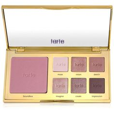 Tarte Tartiest Eye And Cheek Palette, (465 ARS) ❤ liked on Polyvore featuring beauty products, makeup, no color, tarte cosmetics, tarte, palette makeup and tarte makeup