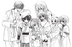 Akatsuki no Yona Official Art [Volume 20 Sketchbook]