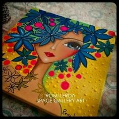 Risultati immagini per romina lerda Art Africain, Arte Pop, Dot Painting, Face Art, African Art, Mixed Media Art, Altered Art, Art Girl, Art Lessons