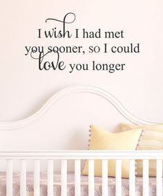 'Love You Longer' Wall Decal by Belvedere Designs on #zulily!