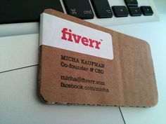 Lasting Impressions: Unusual Business Cards That Will Definitely Be Kept
