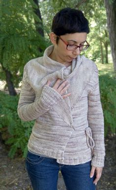 Ancient Soul by Ela Torrente ¬ malabrigo Worsted in Pale Khaki