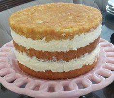 Creme de Confeiteiro (Creme Pâtissière) do Programa Masterchef - Receita Toda Hora Sweet Desserts, Sweet Recipes, Cake Recipes, Brazillian Food, Pastel Cakes, Different Cakes, Just Cakes, Cake Ingredients, Yummy Cakes