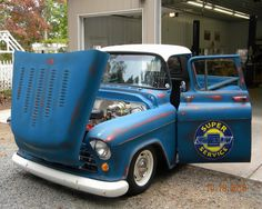 Somehow didn't get the pic included. 1959 Chevy Truck, Classic Chevy Trucks, Chevrolet Trucks, Gm Trucks, Cool Trucks, Pickup Trucks, Chevrolet Apache, Shop Truck, Gmc Pickup