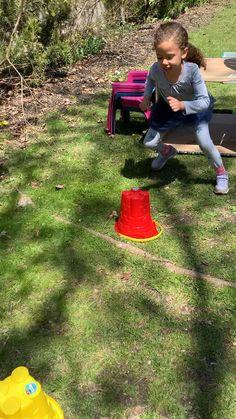 Indoor Games For Kids, Outdoor Activities For Kids, Preschool Learning Activities, Infant Activities, Summer Activities, Young Toddler Activities, Outdoor Games For Toddlers, Activity Games For Kids, Toddler Fun